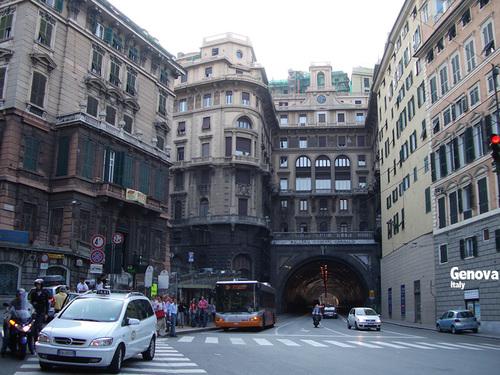 旅の壁紙: ジェノヴァ(イタリア)