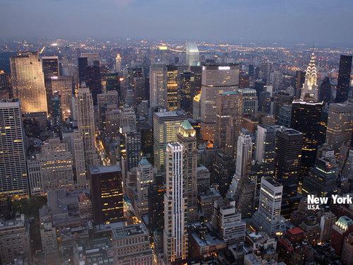 ニューヨーク・エンパイアステートビル(アメリカ)